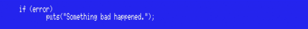 if() condition on MSX-C